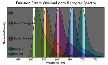Fluorophore Emission Filters